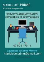 Marie Luce Prime, services administratifs