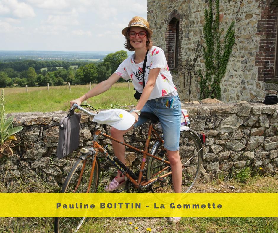 Pauline BOITTIN - La Gommette